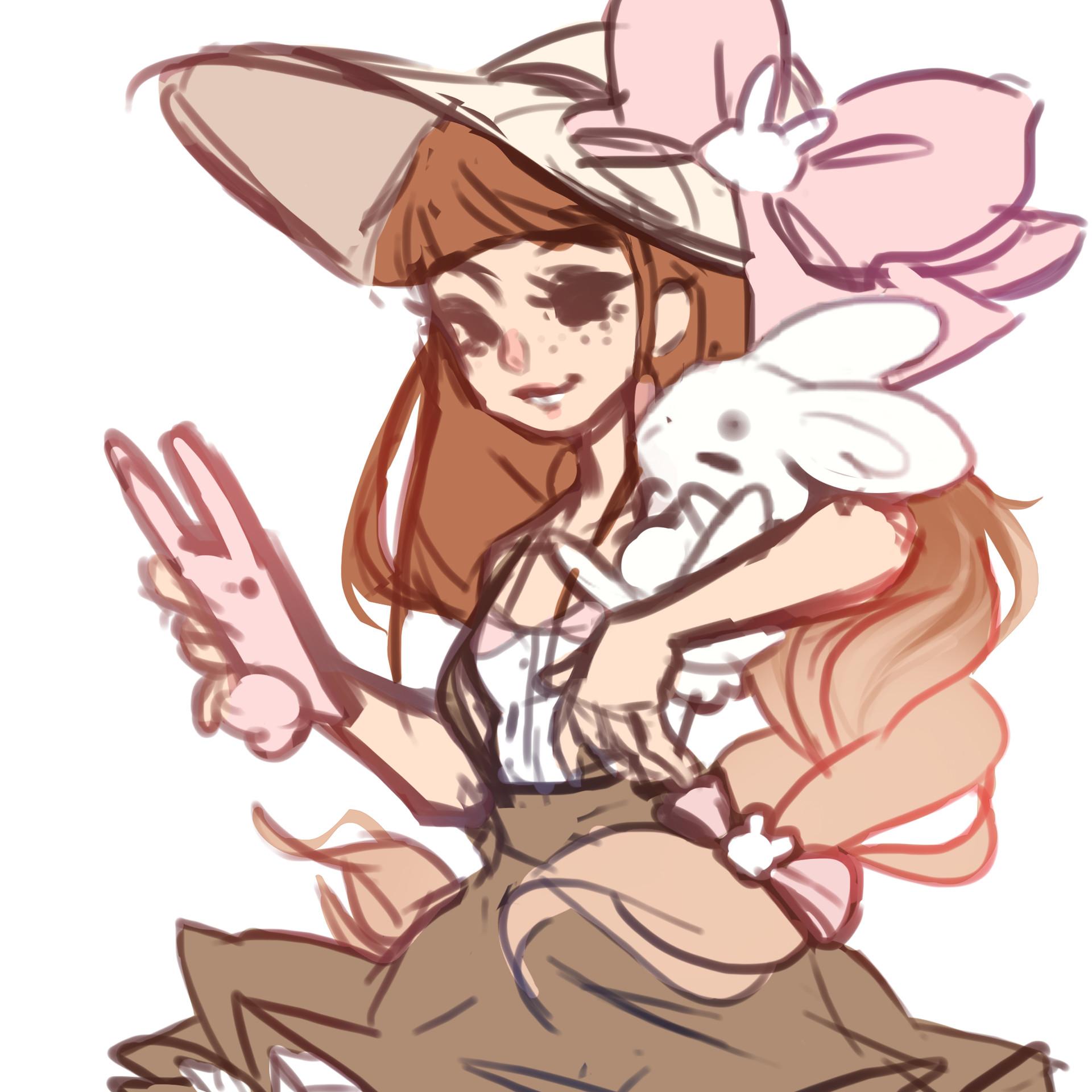 Dani kruse some bunny named d sketch