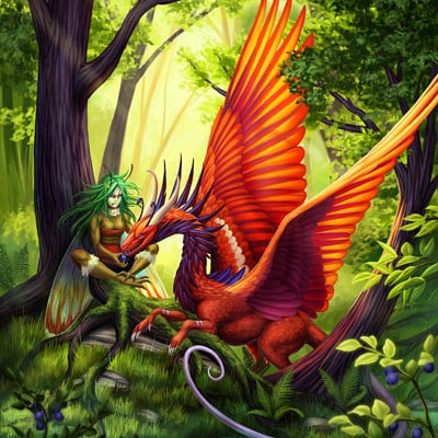 Martina nachazelova dragon friend25