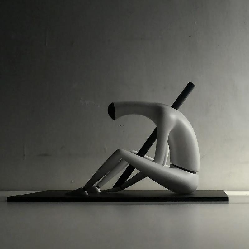 Abandoned Robots pen holder
