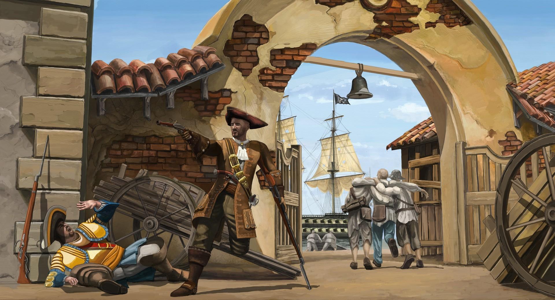 Eugene melnikov john silver saves sailors