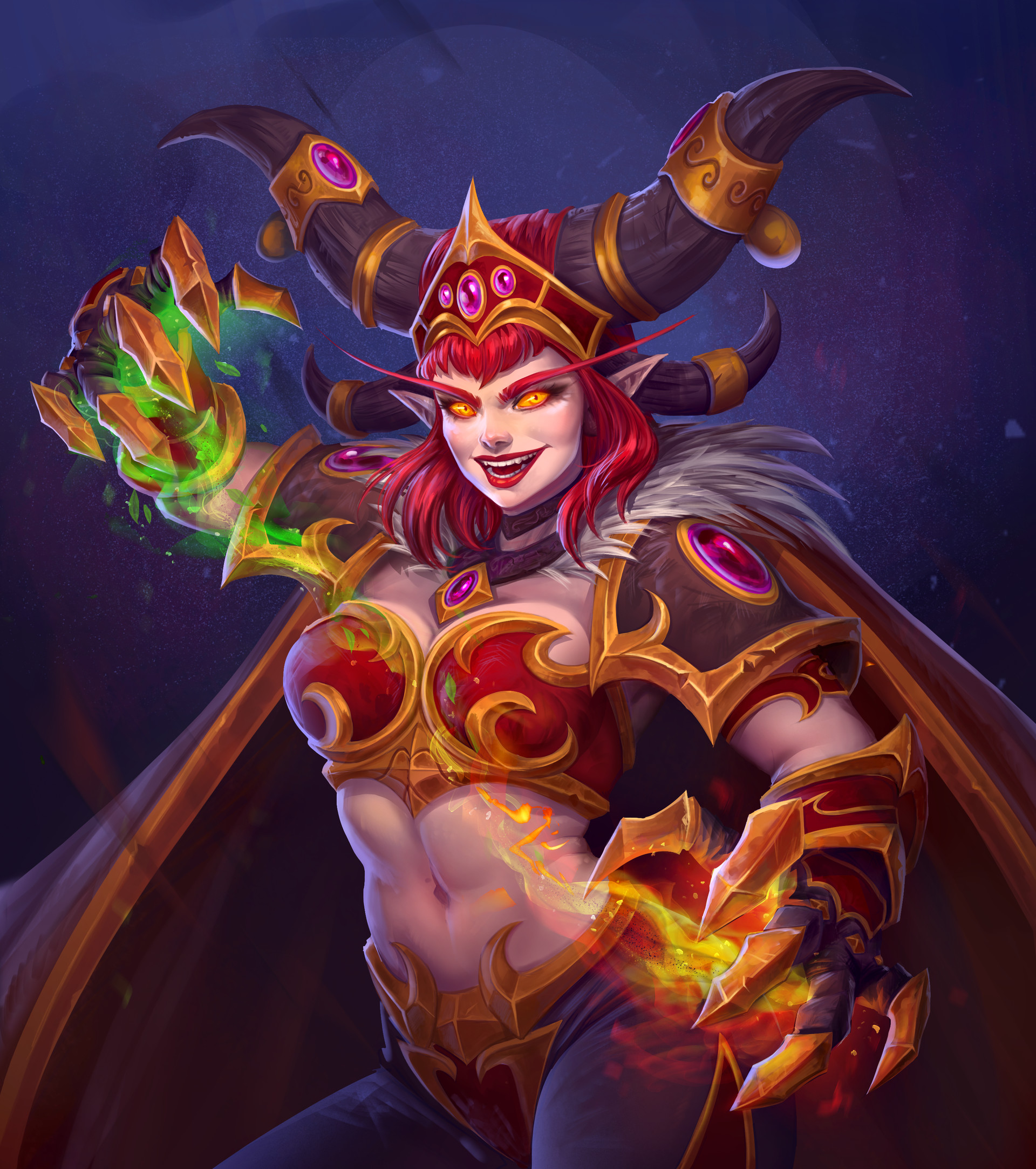 Fire Demon Female