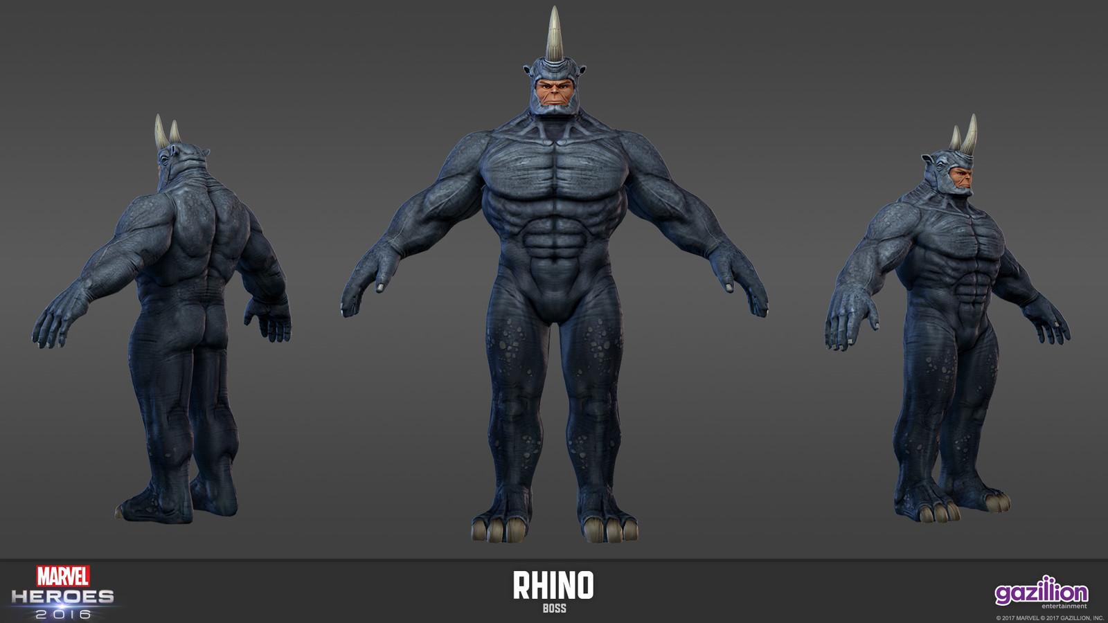 Rhino - Marvel Heroes Omega