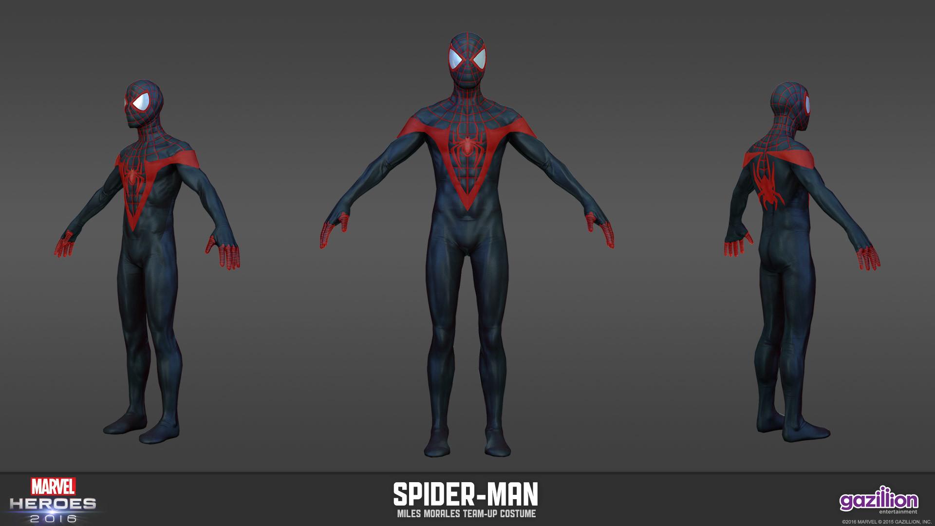 Jayna pavlin jayna pavlin modelsheet teamup spiderman milesmorales