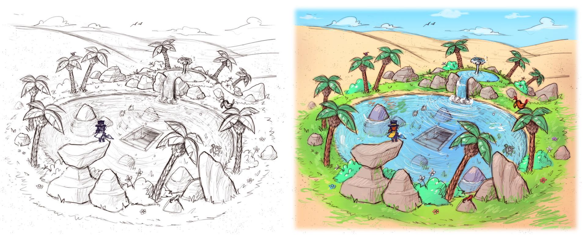 Luigi lucarelli oasis concept