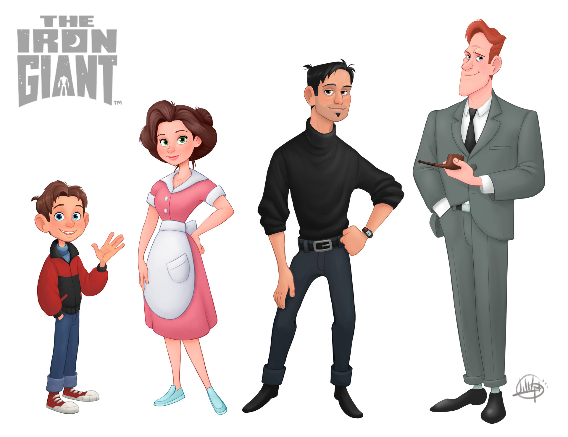 Luigi lucarelli iron giant line up