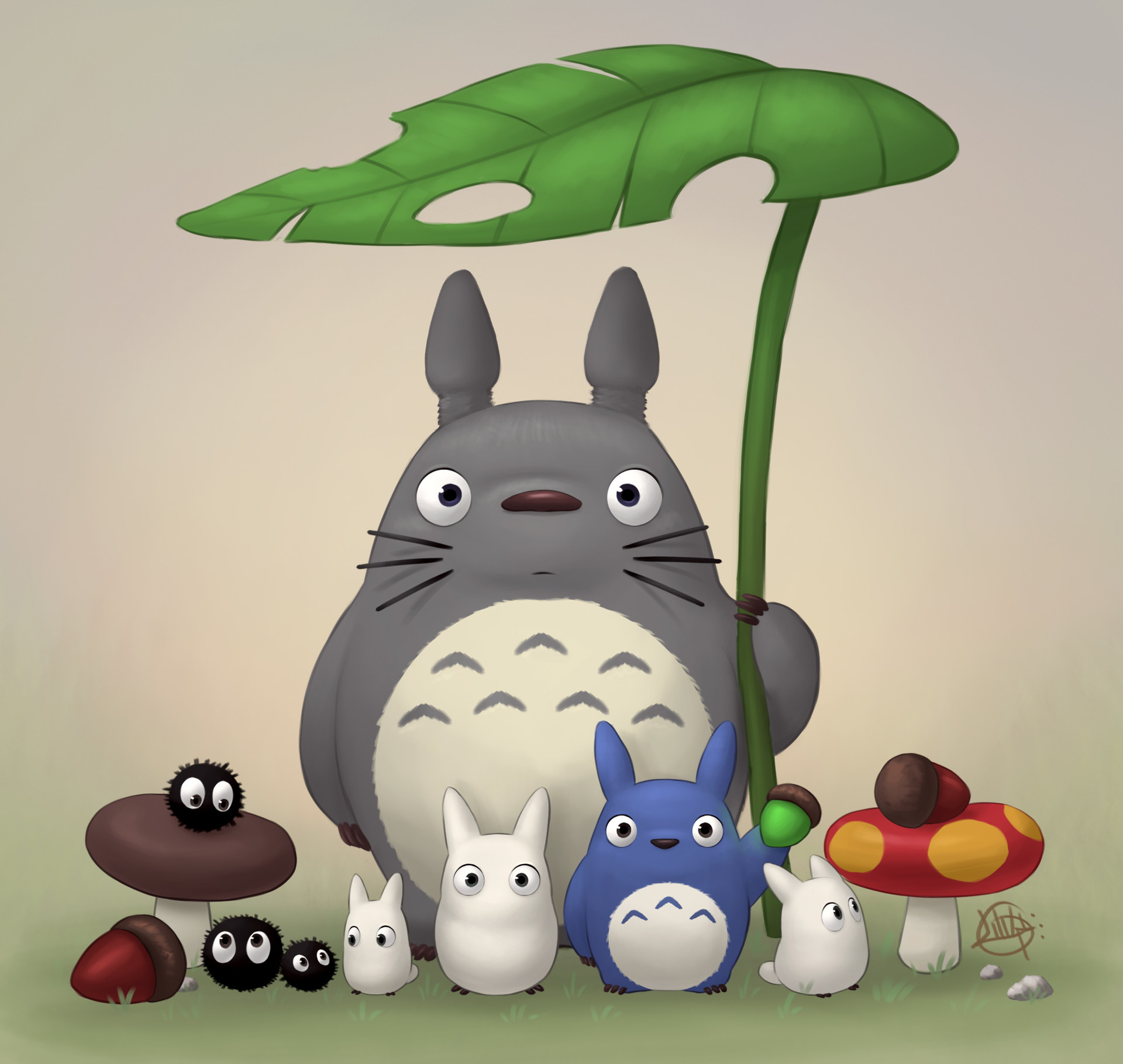 Luigi lucarelli totoro and friends