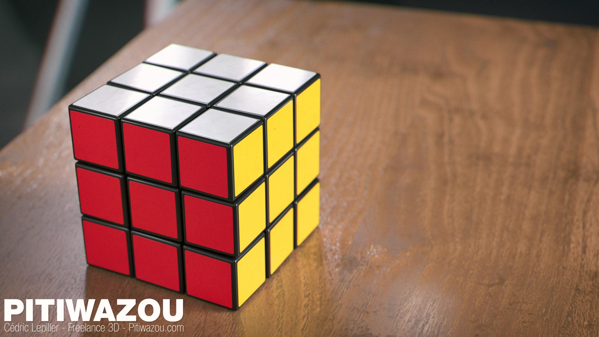 Cedric lepiller cedric lepiller rubiks cube 001 4k