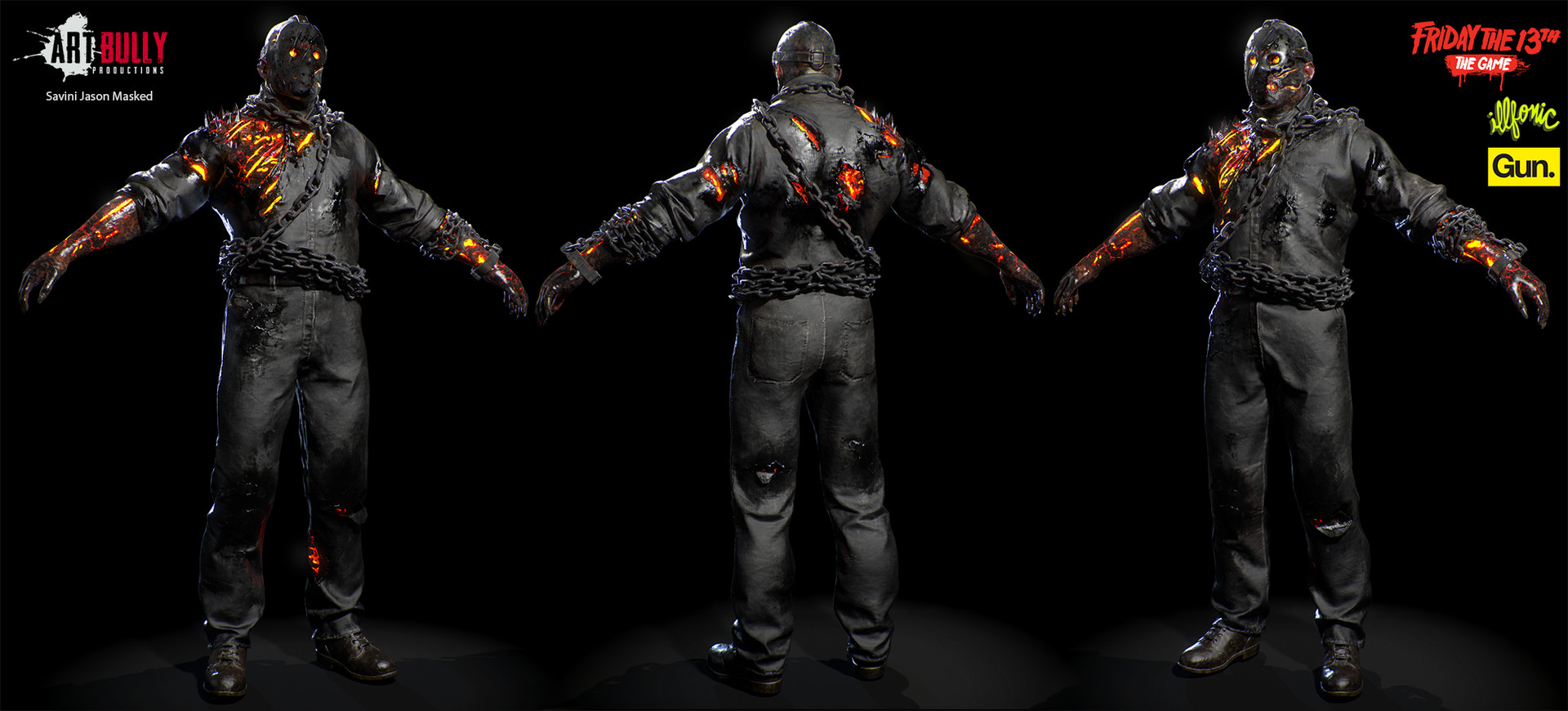 Artstation Friday The 13th The Game Jason Versions Art Bully