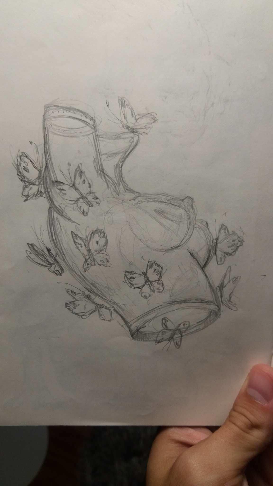 Rafael vallaperde original drawing