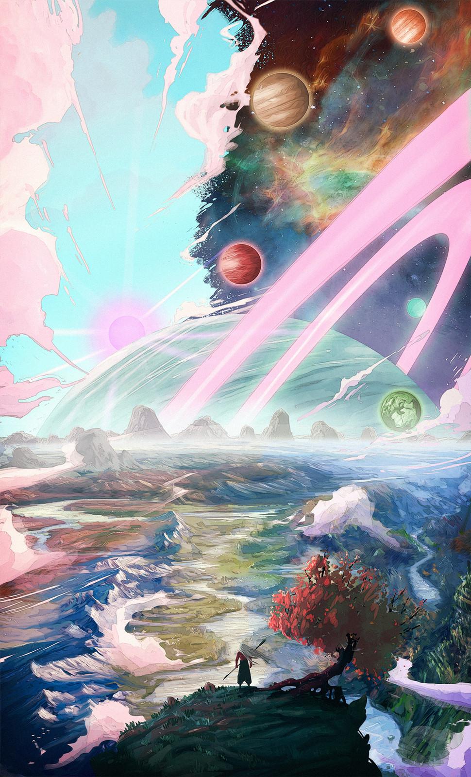 Universes (Cover Book Illustration)