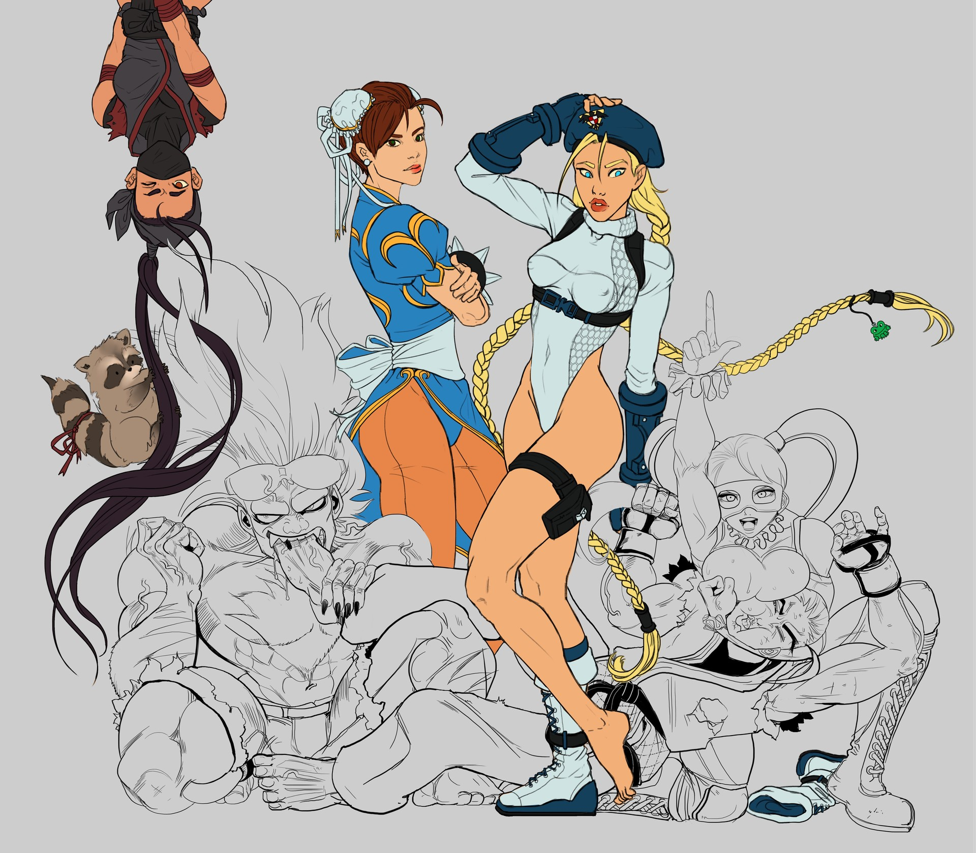 Shellz art street fighter wip 12