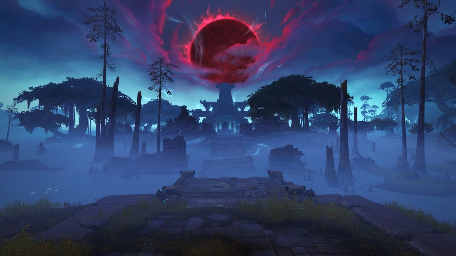 ArtStation - Blizzcon2017 BFA Announcement - Blood Moon