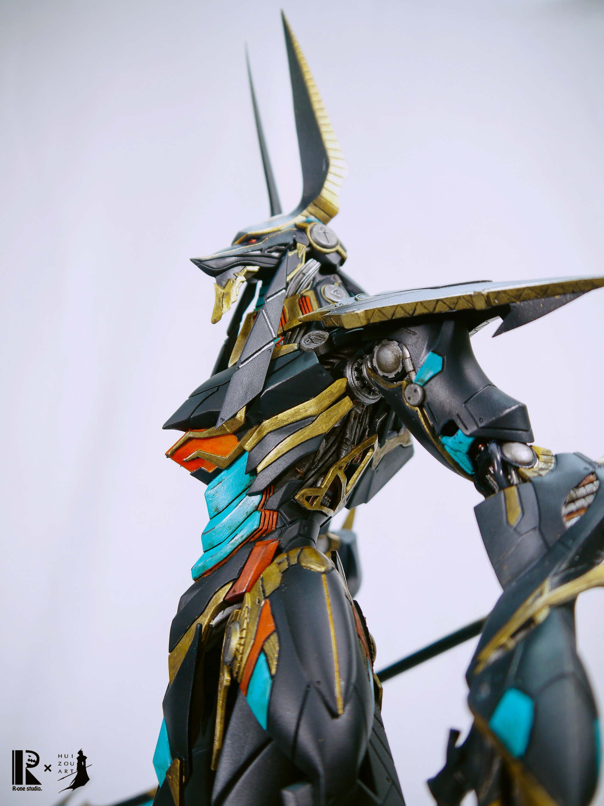 Hui Zou Art Anubis Gods Within Steel