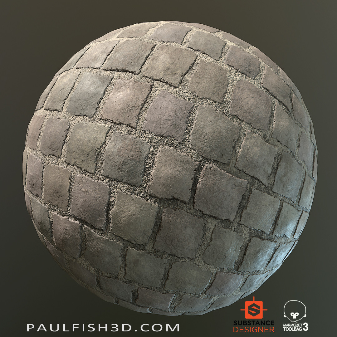 Substance Designer - Simple Medieval Floor Tiles
