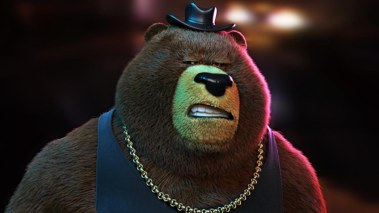 Gangster Bear