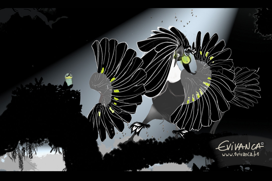 Ready to dance? This broadway bird is! Have a nice weekend full of inspiration! greetz Evivanca www.evivanca.be