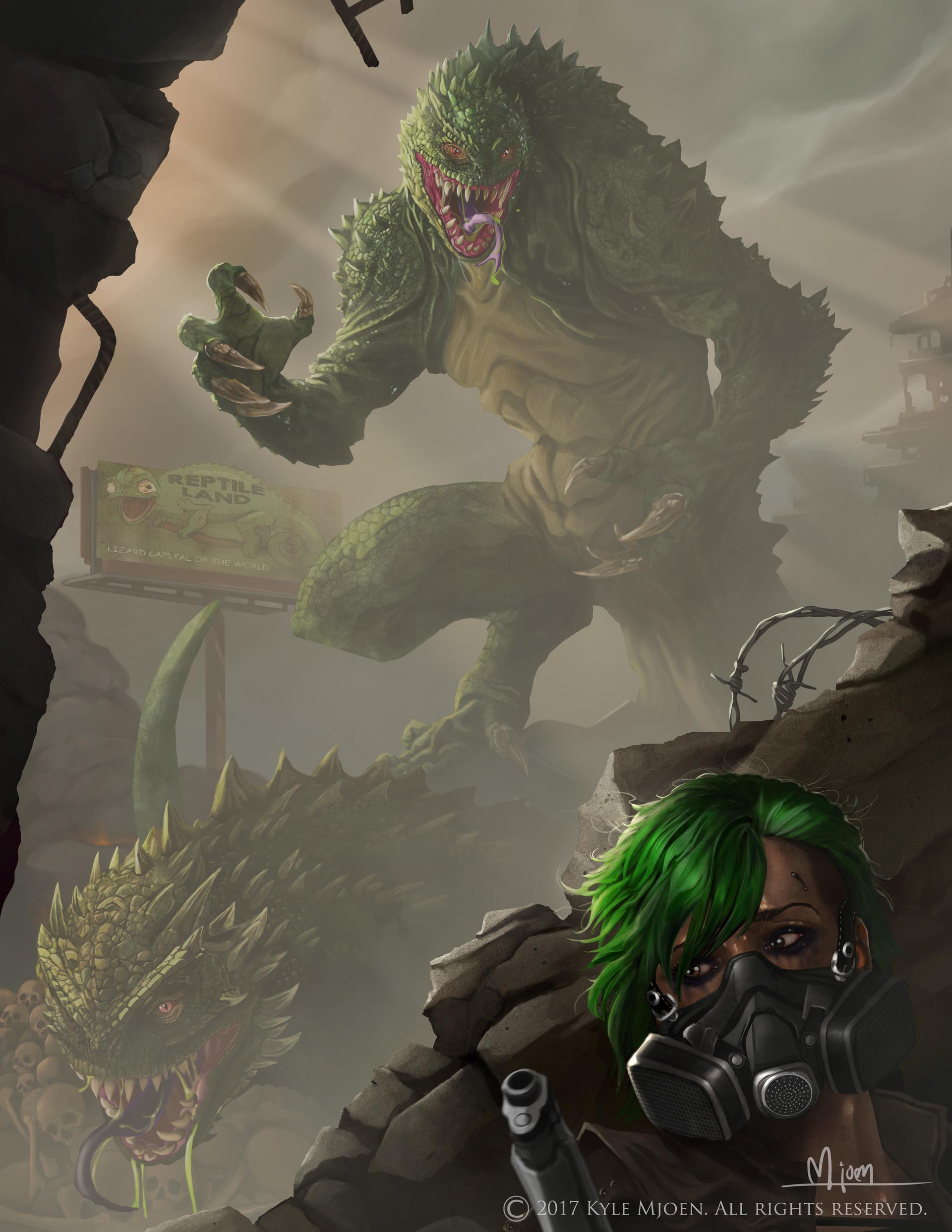 Kyle mjoen lizard mutants mjoen