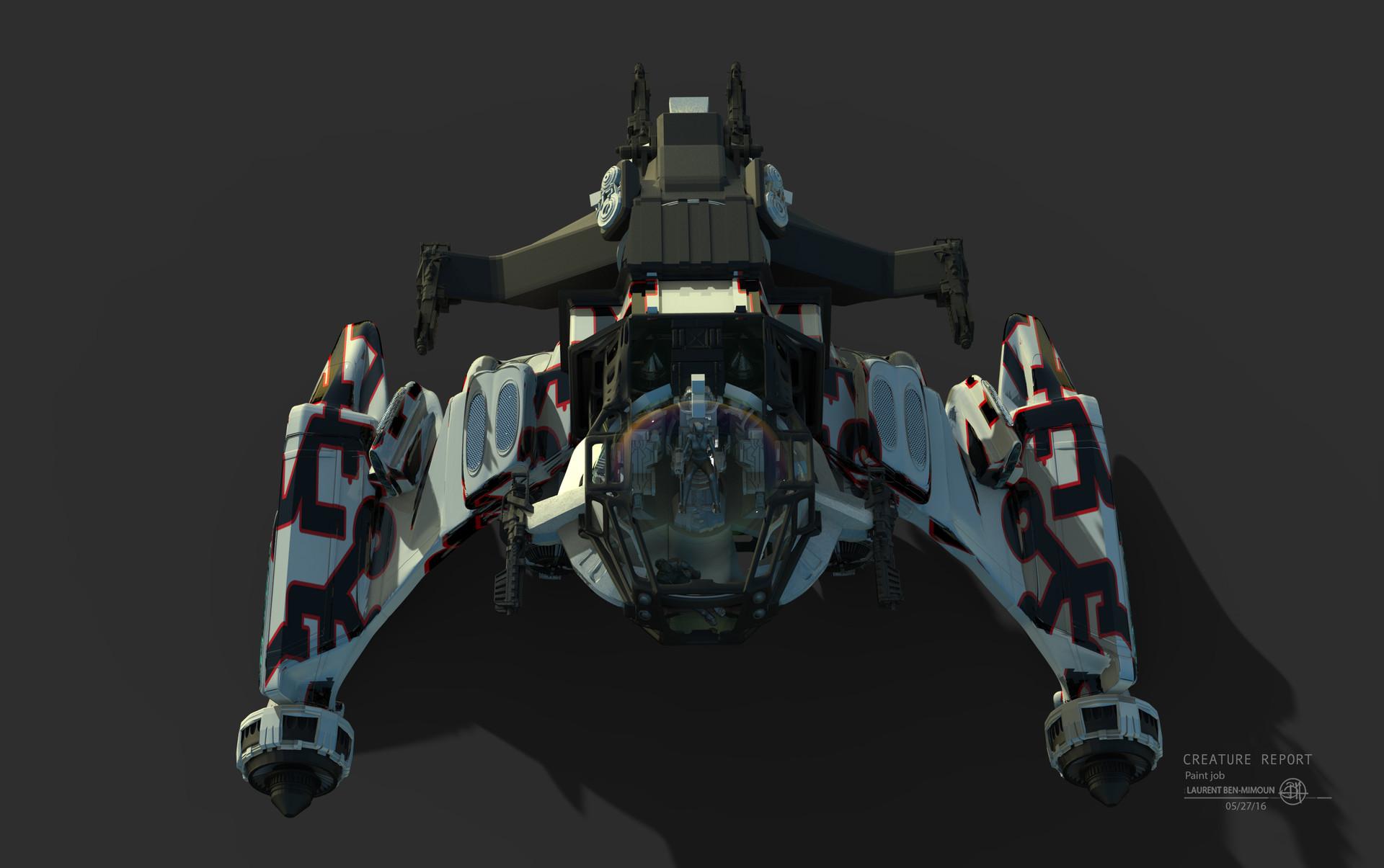 ArtStation THOR RAGNAROK Laurent BenMimoun - Spaceship design game