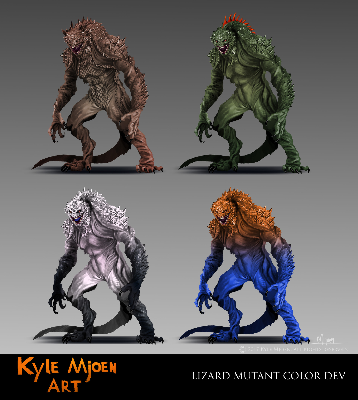 Kyle mjoen lizard mutant design