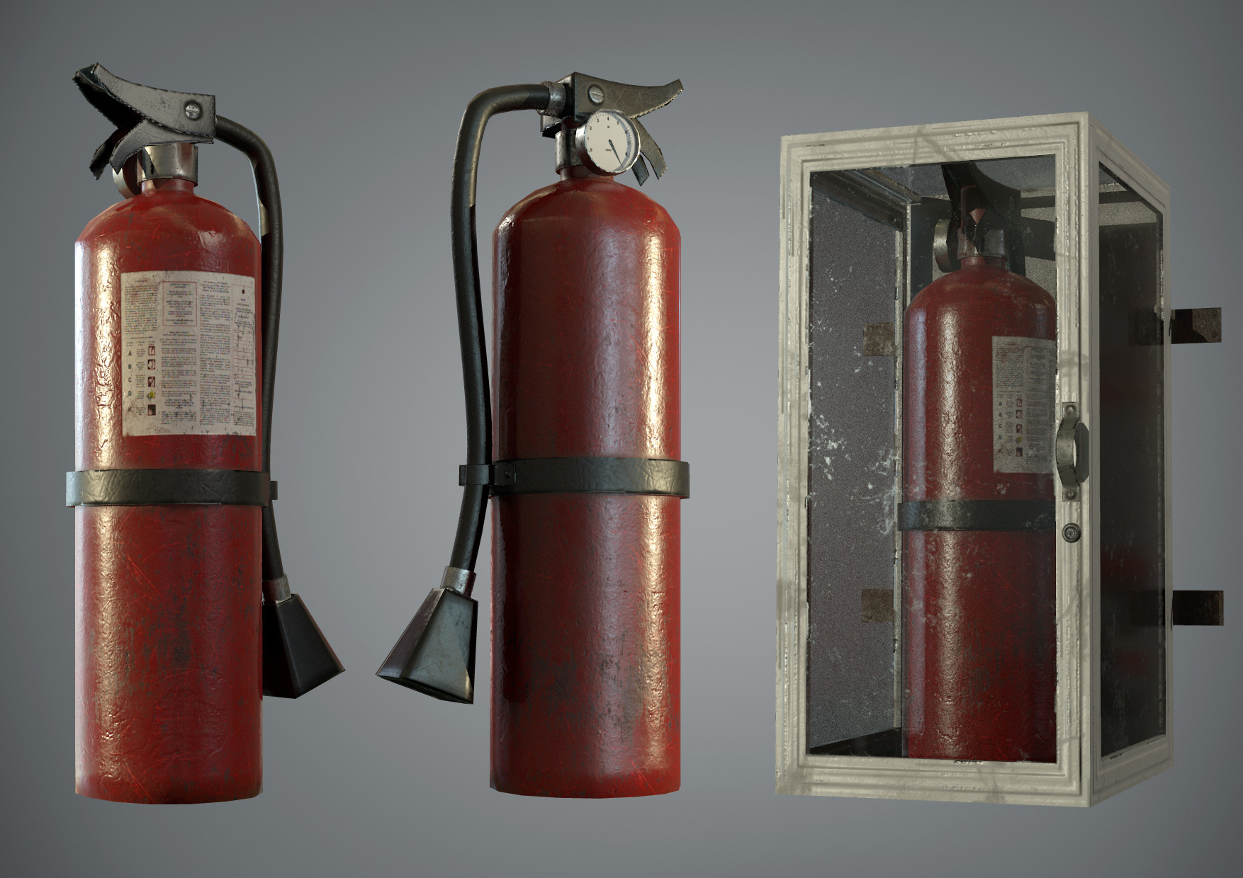 Andrew constantine fire extinguisher