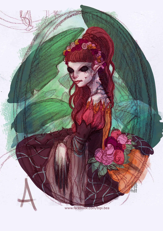 Beatrice pelagatti duchessa di primavera prova colore