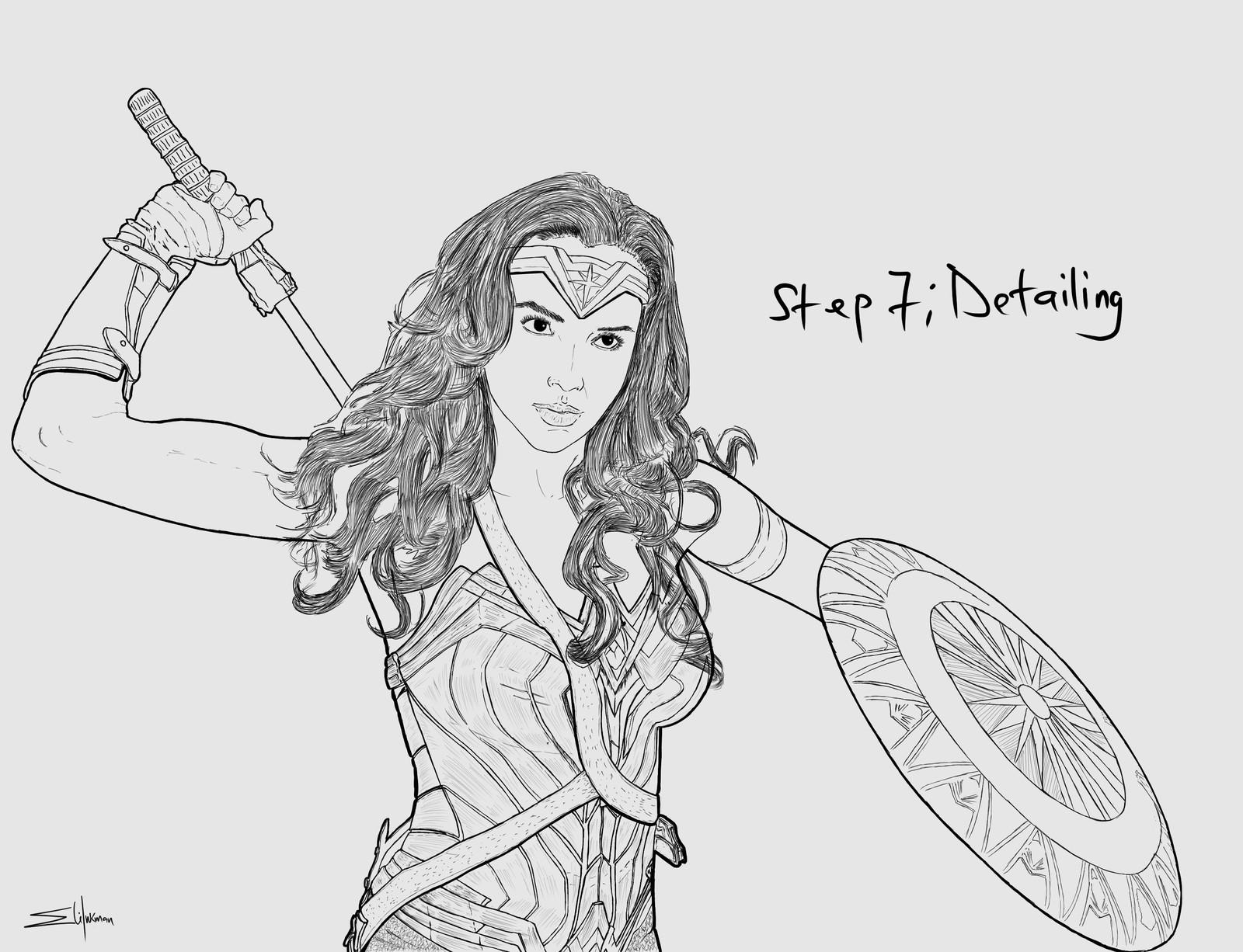 Backlog Daily Art Workout [Figure Drawing](Day 265): Wonder Woman