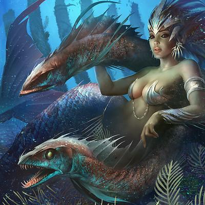 Alejandro mirabal mermaid2