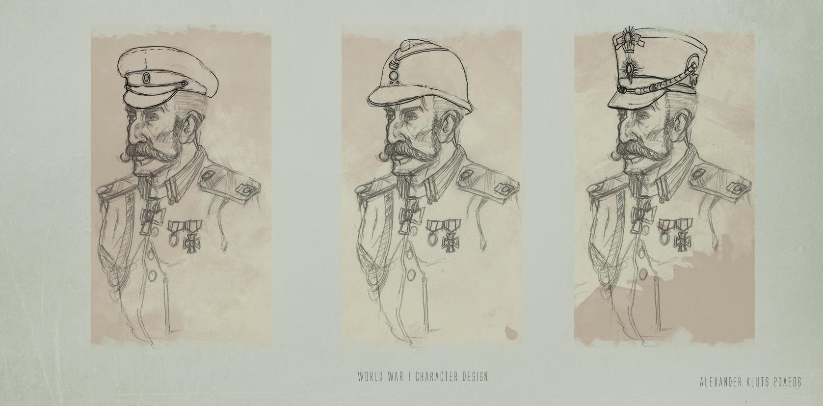ArtStation - Russian Imperial Brigade General, Alexander Kluts
