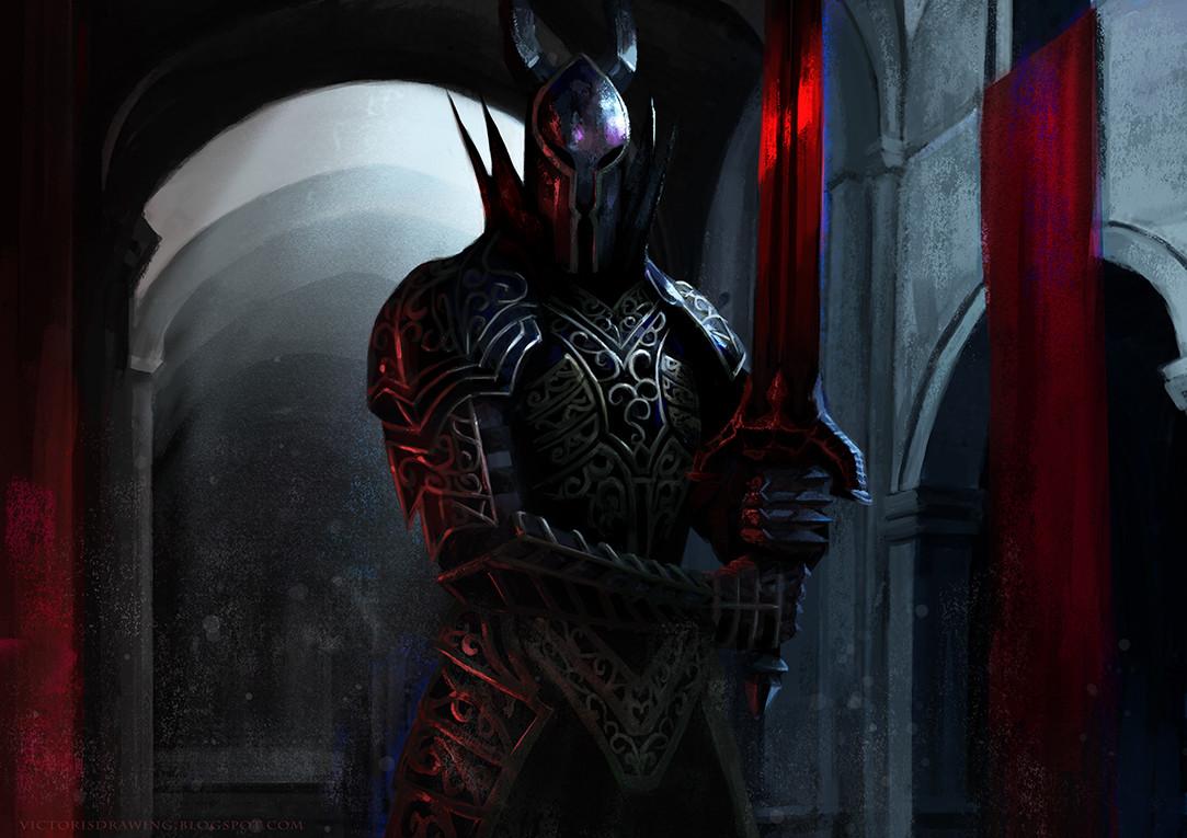 Black Knight - Dark Souls  Fan Art.