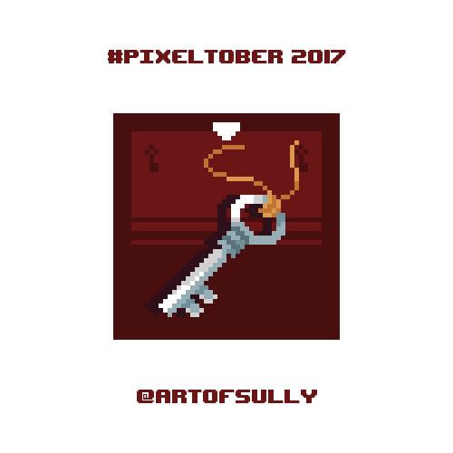 #pixeltober - Day 17 - 'Polished Key'