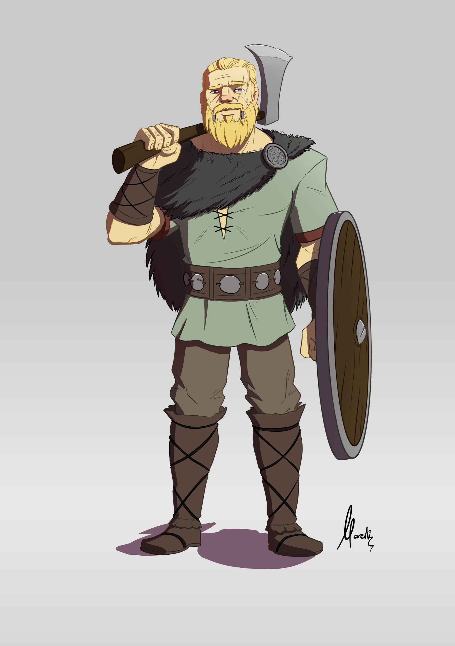 Mauricio morali vikingo