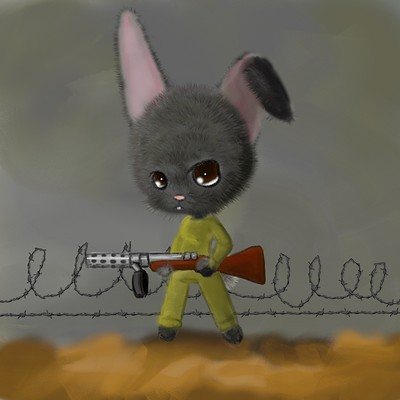 Janine timiney war bunny
