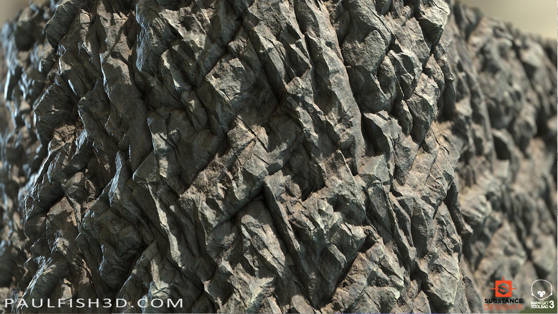 Paul fish stone cliff dark 02