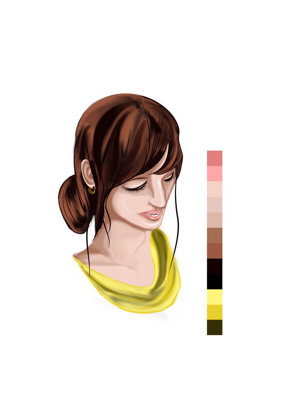 Fourteen - coloring final(dress)
