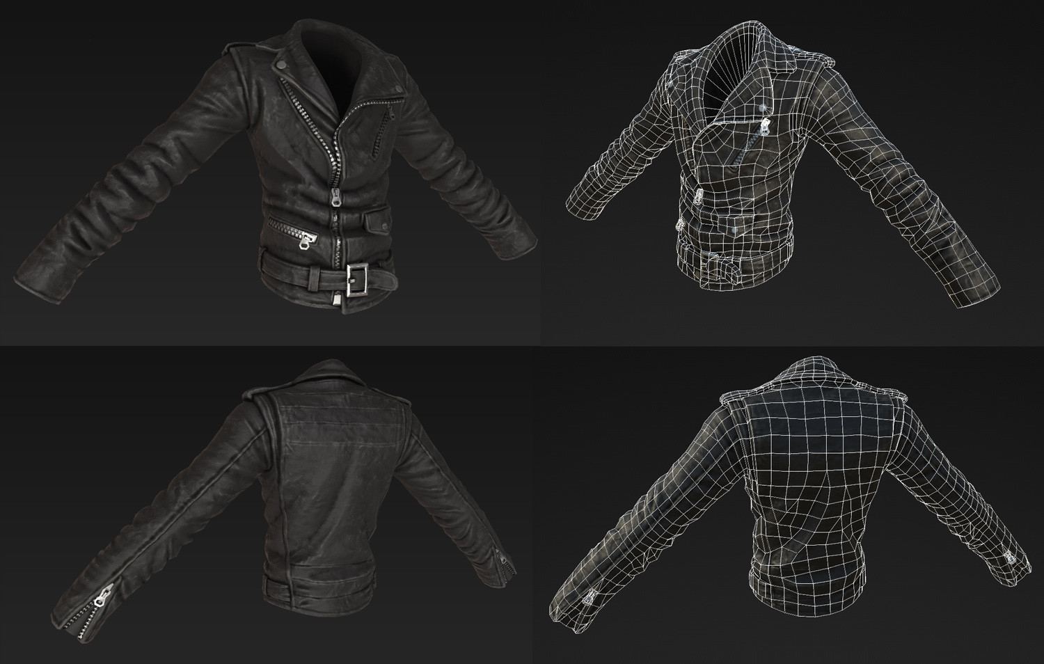 Shawn witt rb4 leatherjacket