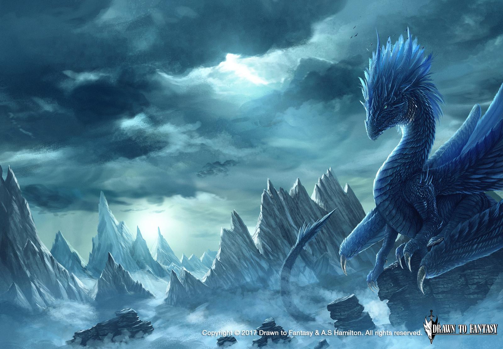Ceri-Talen Sapphire Dragon