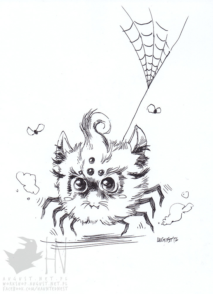 day 3 || Cute Spider