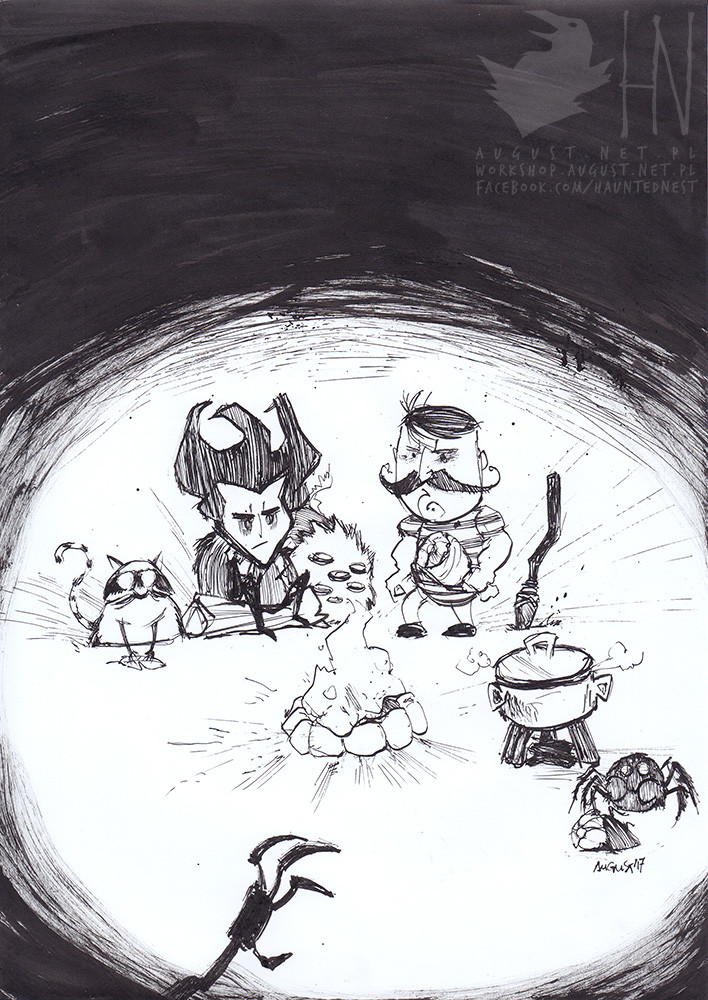day 27 || Don't Starve Together. Night