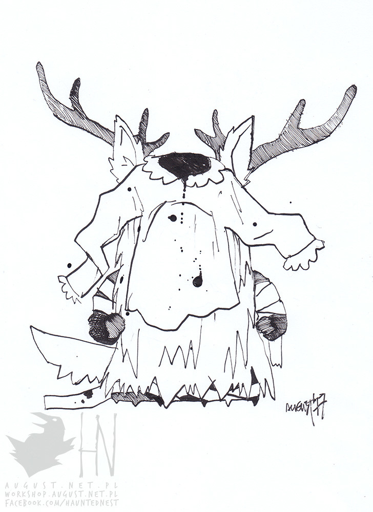 day 23 || Vicar Amelia as South Park character