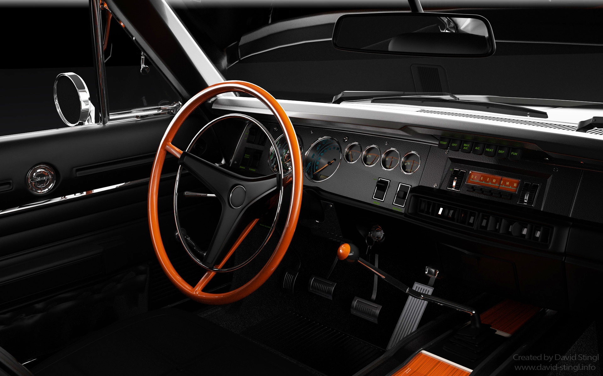 David stingl david stingl charger v367 interior 1
