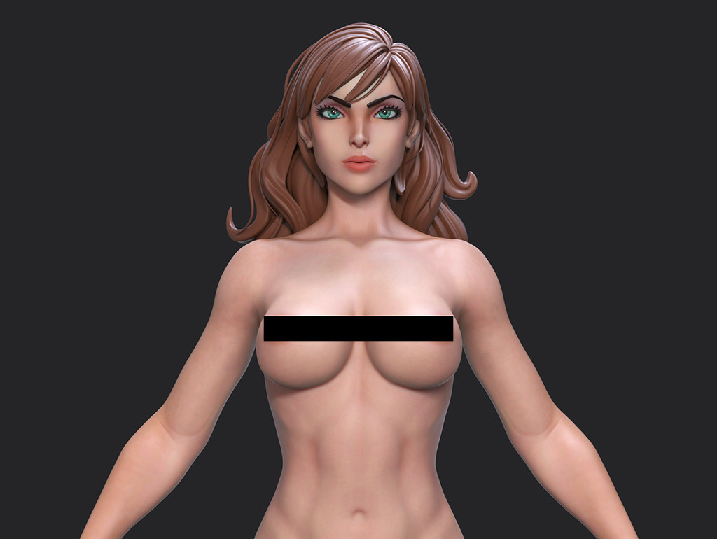 Artgerm Girl WIP