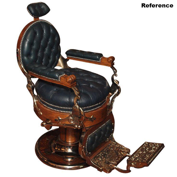 Jun choi black and brown round antique wooden barber chairs ideas - Jun Choi - Antique Barber Chair