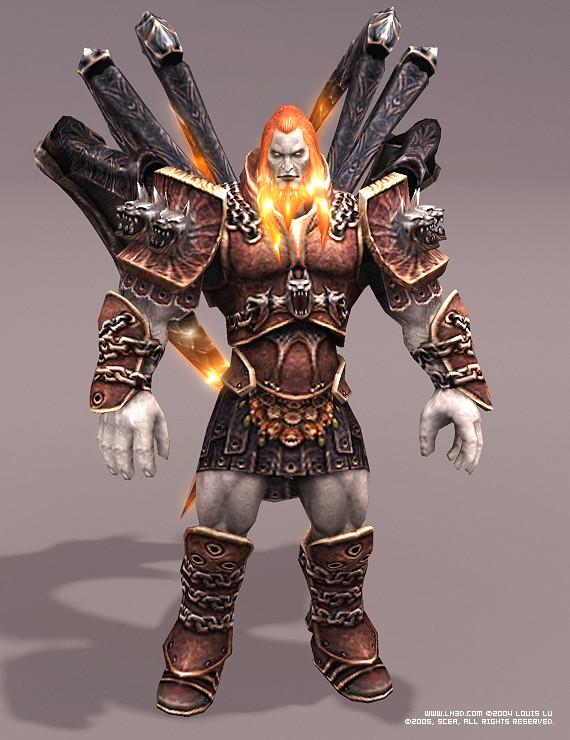 ArtStation - God of War I - Ares, Louis Lu