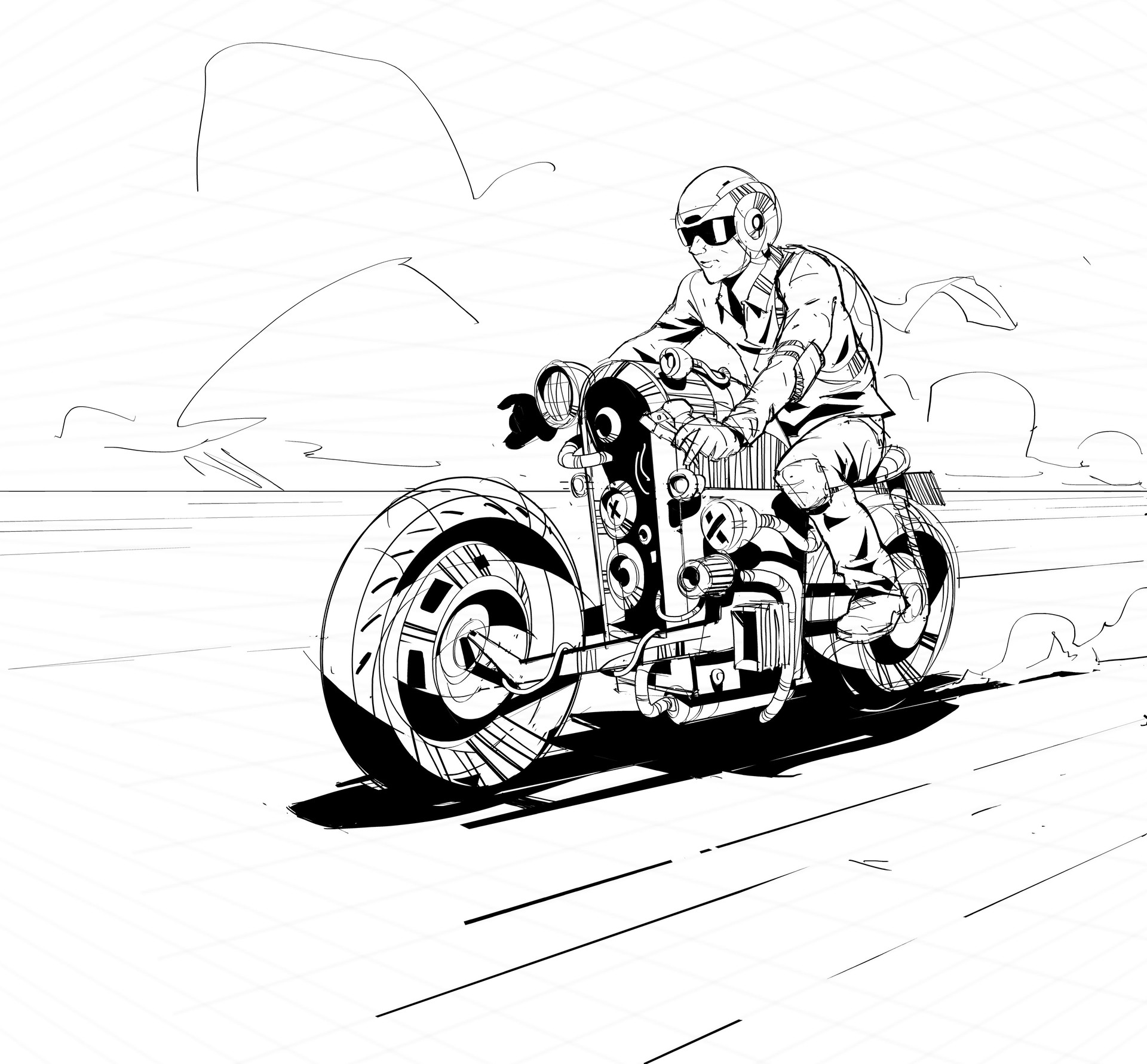 Matt tkocz brushpen sketch6