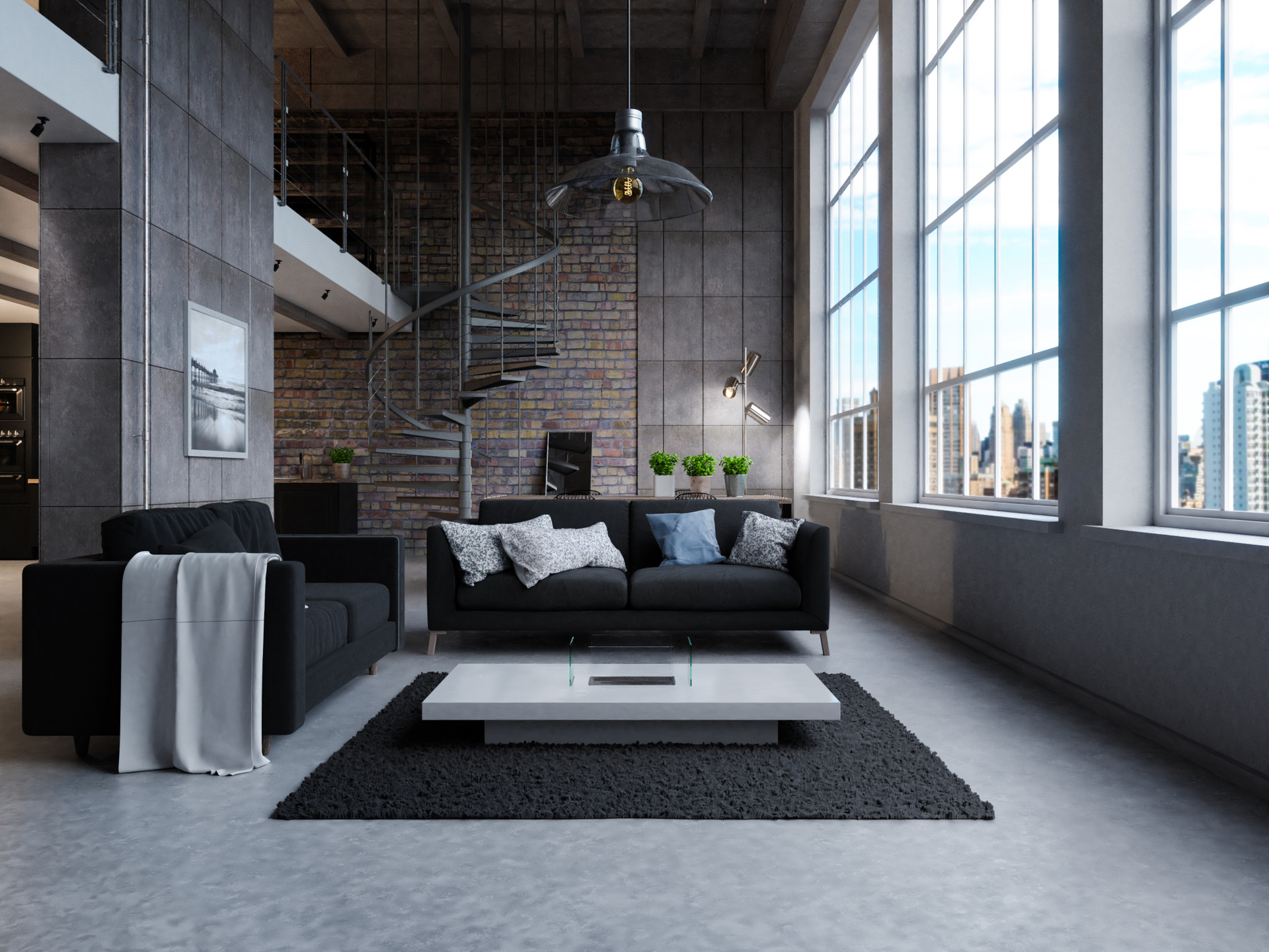 Kristian Hill Industrial Apartment