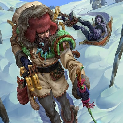 John silva johnsilva dex of winter hyperborean huntmaster x