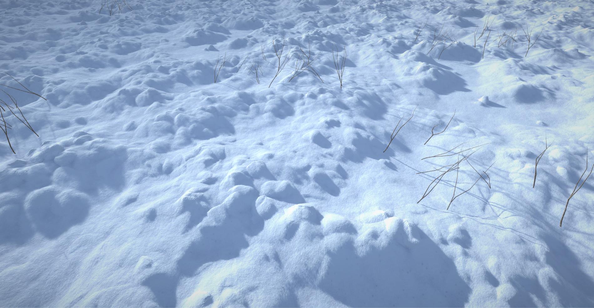 ArtStation - Big Snow Assets, Matty Wyett-Simmonds