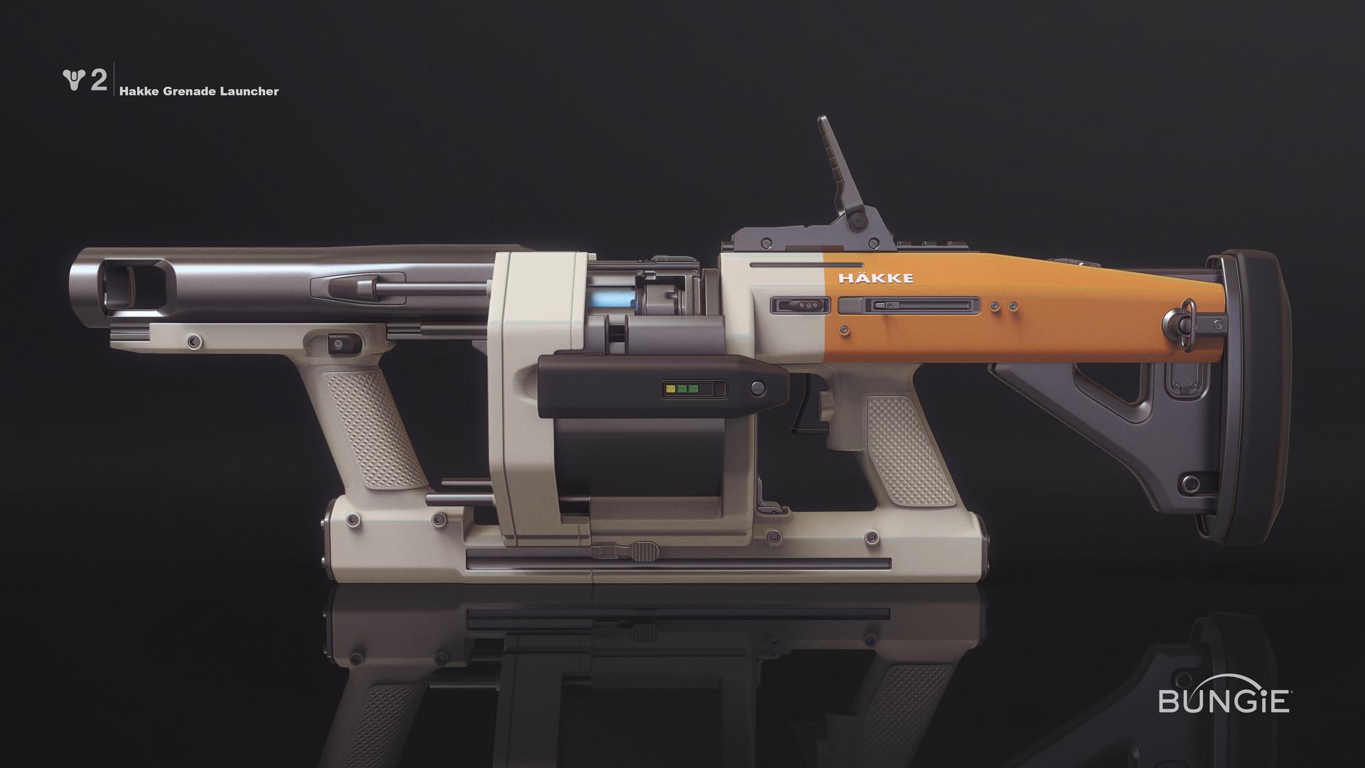 Mark van haitsma d2 hakke grenade launcher