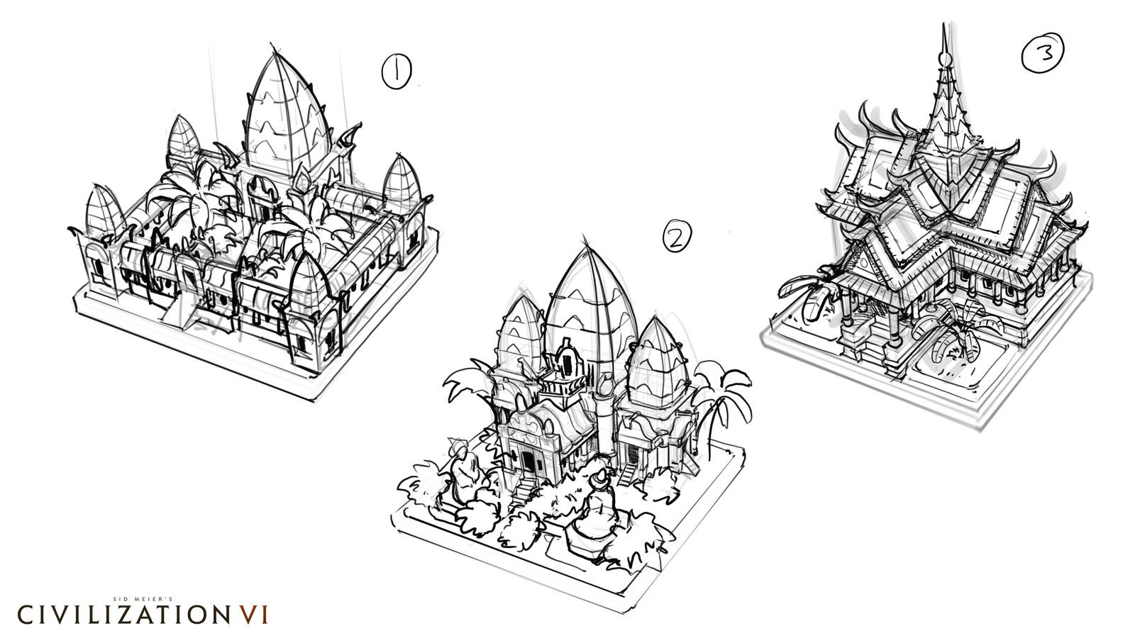 Khmer Palace Exploration