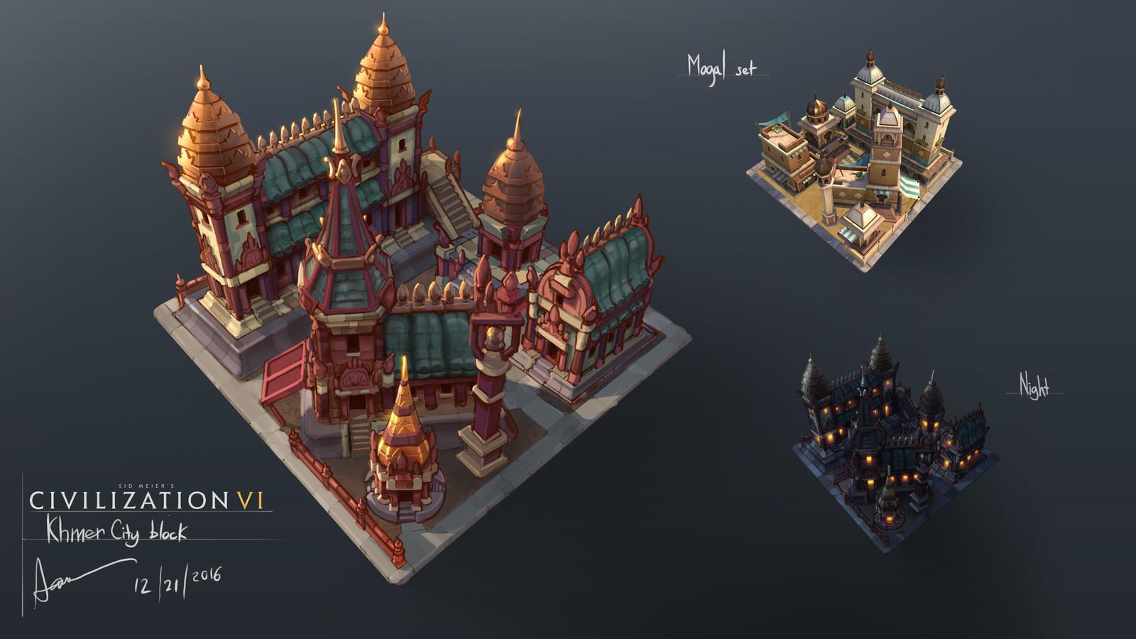 Khmer City Block